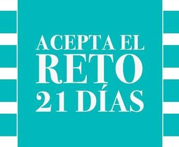 Bloggers Coruñesas aceptan el reto 21 días